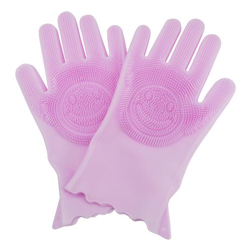 ถุงมือลูบขนและอาบน้ำสัตว์เลี้ยง